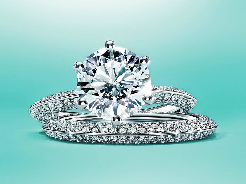 Pave Tiffany Setting